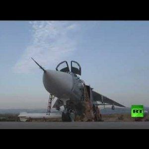 شاهد لأول مرة القاعدة الجوية الروسية في اللاذقية - YouTube
