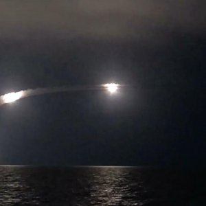 Russian Navy launched cruise missiles against ISIS infrastructural facilities in Syria
