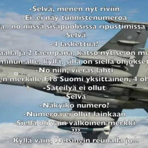 Venäjän ilmavoimien radiokeskustelu Suomen F-18 Hornetin tunnistuslennolla