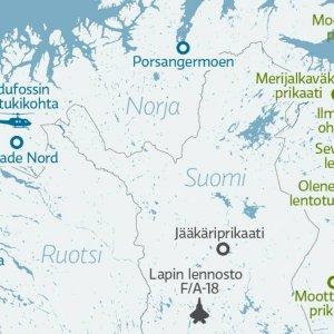 Suomen pohjois-osan joukot