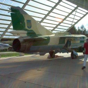 MiG-23 Ukrainan väreissä