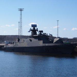 Hamina-luokan ohjusvene Hamina.